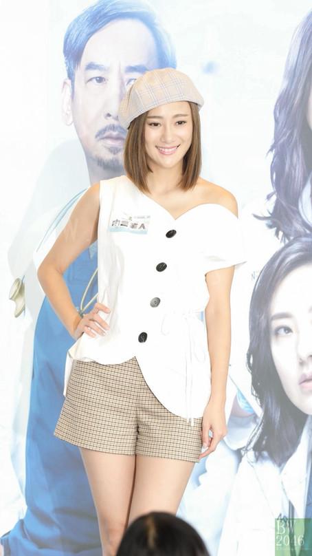 朱智賢 Ashley Chu @ TVB《白色強人》劇集宣傳活動
