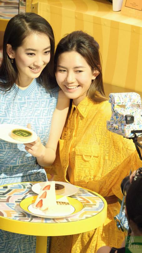伍詠詩 Ng Wing Sze @ Fendi Caffe x Summer Vertigo 限定店開幕活動