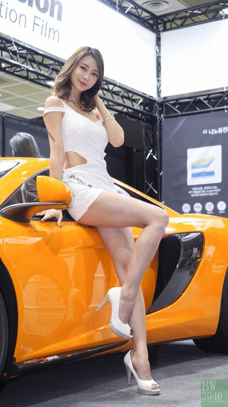 서울오토살롱 2017 | SEOUL AUTO SALON 2017 - 서한빛 Seo Hanbit, Racing Model 레이싱모델 車模 #16