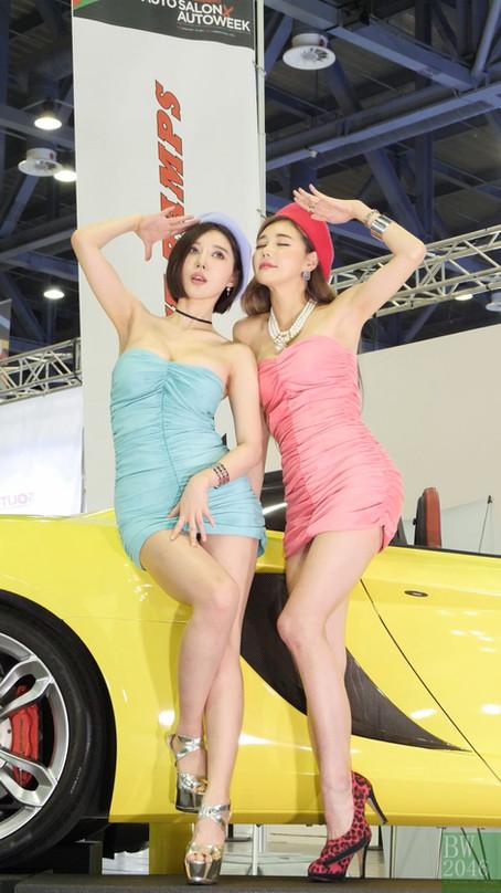 오토살롱위크 2019 | AUTO SALON X AUTOWEEK 2019 - 송주아 Song Joo Ah, 우주안 Woo Juan, Race Queen #01