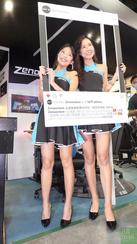冼穎彤 Ellie Sin, 何晞藯 Fiona Ho Heiwai - Zenox Show Girls - ACGHK 香港動漫電玩節 2021