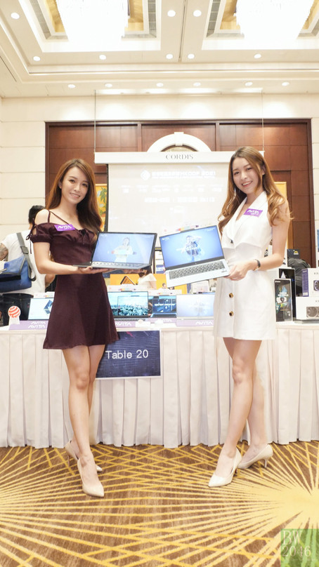 HKCCF「香港電腦通訊節2021」記者招待會 - Avita Show Girls