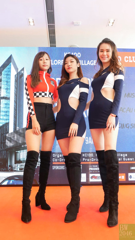 GRAND PRIX HONG KONG - KC100 - Kero Lau,Chelsie Chan,Toby Lo, Racing Model 레이싱모델 車模