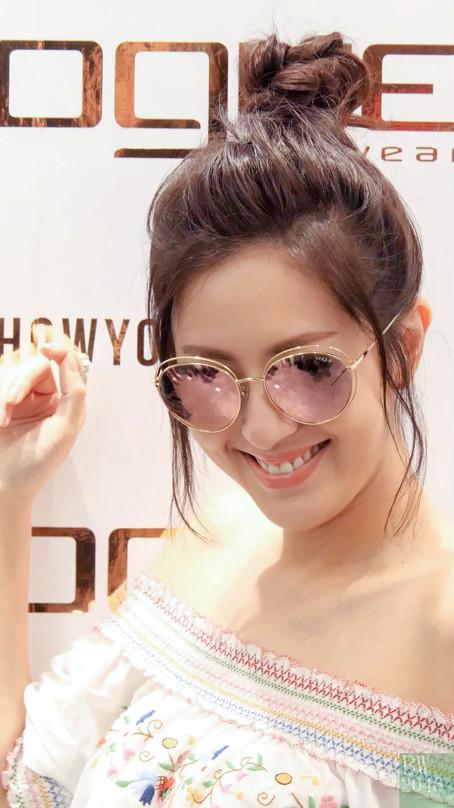 """唐詩詠 Natalie Tong - 完美演譯""""四眼妺"""" @ Vogue Eyewear 新品發佈會"""