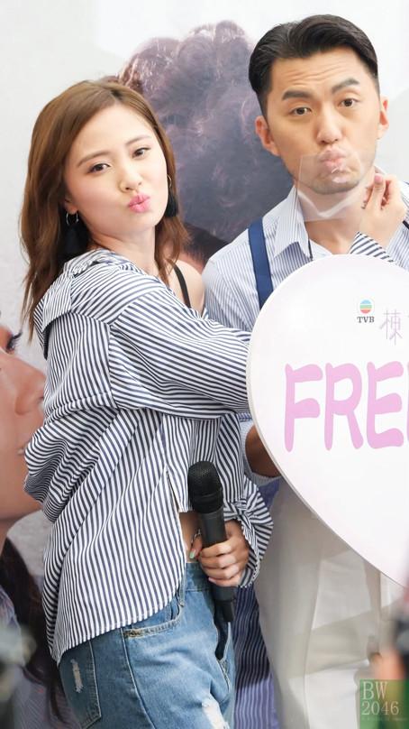 朱晨麗 Rebecca Zhu @《棟仁的時光》劇集宣傳活動「動人の吻」