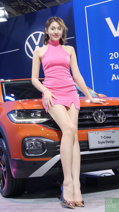 世界新車大展 - 台北車展   Taipei Auto Show 2020 - 車模 #25 江智勤 Carol Chin @ Volkswagen
