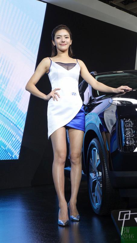 世界新車大展 - 台北車展   Taipei Auto Show 2020 - 車模 #35 徐美燕 Maxine Hsu @ Hyundai Taiwan