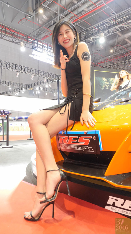 CAS 改裝車展 | China Auto Salon 2019 - Racing Model 車模 #23 @ Race Exhaust System