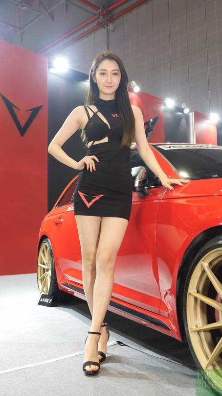 CAS 改裝車展 | China Auto Salon 2019 - Racing Model 레이싱모델 車模 #45 @ VELENO排气助力