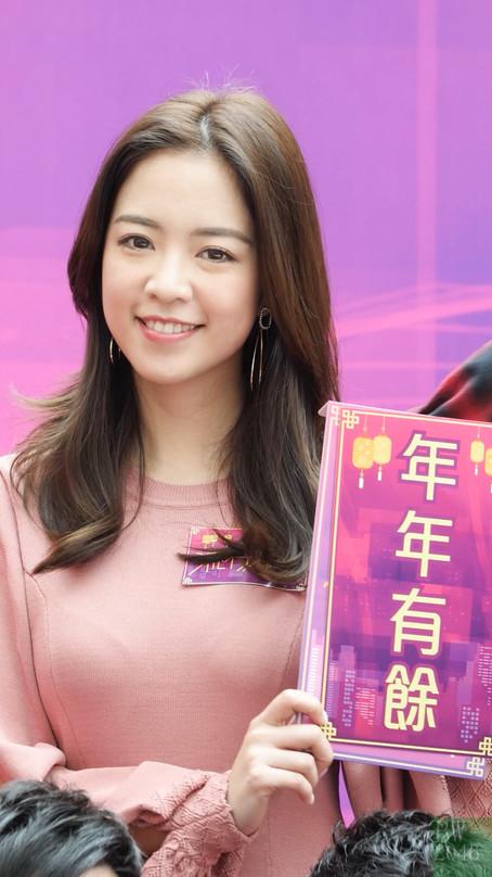彭慧中 Phoebe Pang @ TVB《流行都市》節目宣傳活動