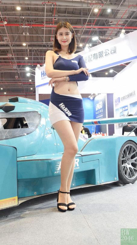 CAS 改裝車展 | China Auto Salon 2019 - Racing Model 車模 #24 @ H&R