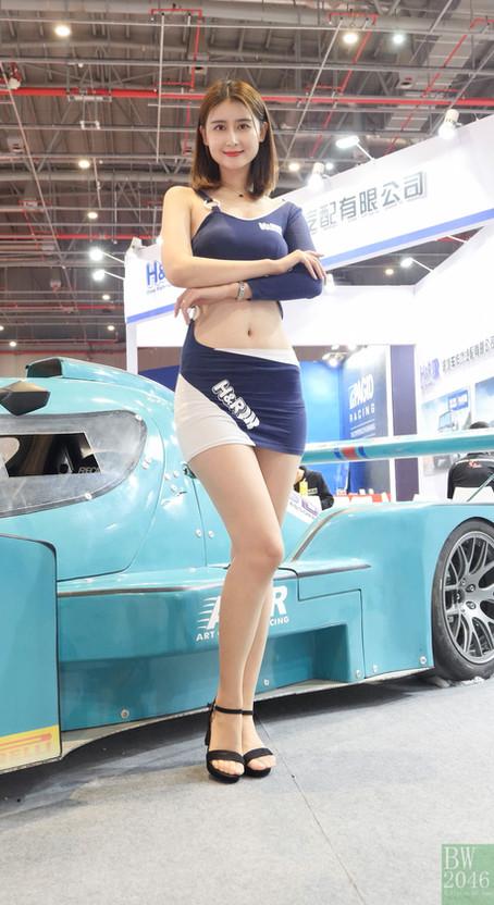 CAS 改裝車展 | China Auto Salon 2019 - Racing Model 車模 #24 @ H&R