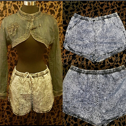 Denim Style Shorts