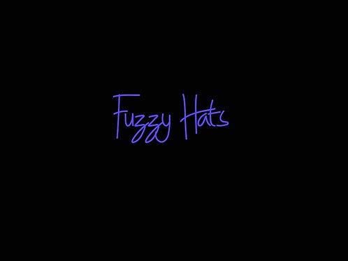 GG Fuzzy Baseball Hats