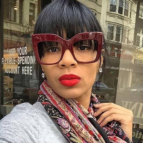 Bigg Frame Vintage Square Glasses