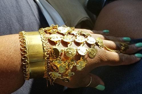 Ring Bangle Bracelet