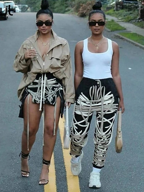 Straight Jacket Skirt / Pants