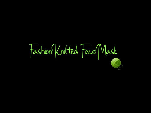 Fashion Knitted Facemasks