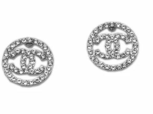Circle cc Earrings