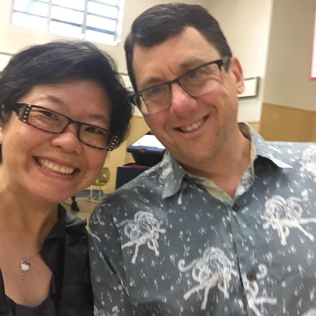 Five Questions with Steve Isaacs and Cathy Cheo-Isaacs