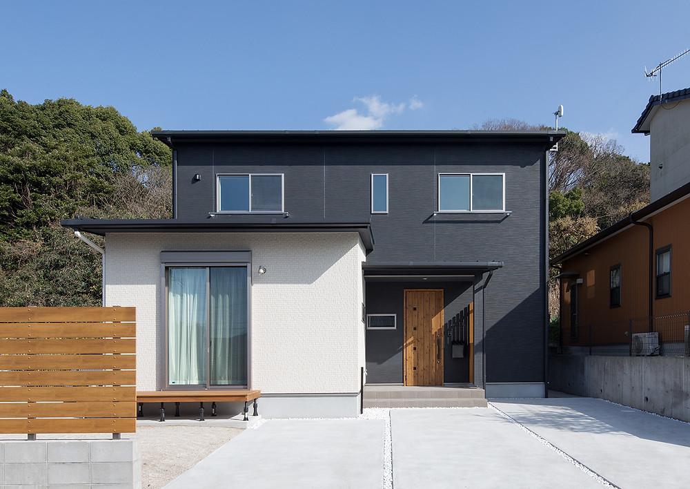 デザインを丁寧に積み重ねた家