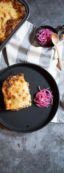 Lasagna cochinita pibil