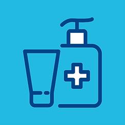 Desinfektionsmittel_und_Schutzausruestun