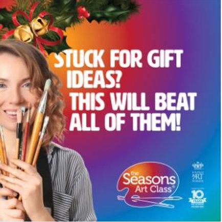 Seasons 14 week art class
