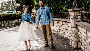 Caleb & Jaclyn, Magical Engagement shoot at the Happiest Place on Earth, Disneyland!