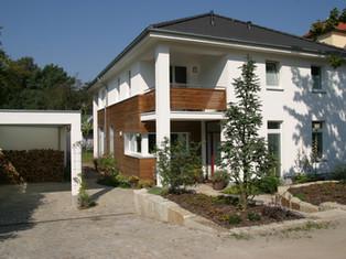Neubau Einfamilienhaus •••