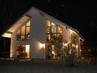 Neubau Einfamilienhaus ••
