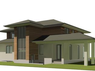 Neubau Einfamilienhaus •••••