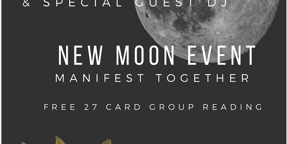 NEW MOON Live on Facebook with Tonya Le & DJ