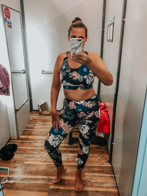 OLD NAVY ACTIVEWEAR TRY ON