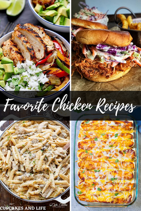 FAVOURITE CHICKEN RECIPES