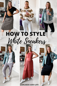 4 WAYS TO STYLE SNEAKERS FOR SPRING/SUMMER
