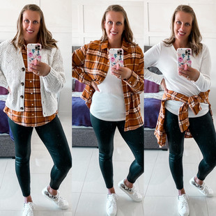 FALL FLANEL STYLED 3 WAYS
