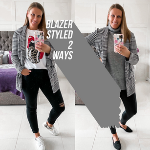 HOW TO STYLE A BLAZER