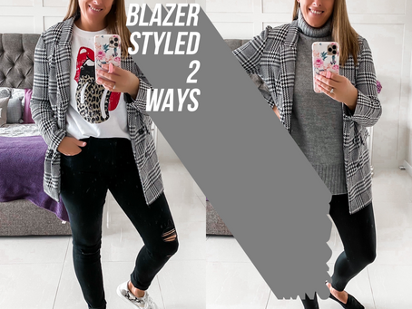 HOW TO STYLE A BLAZER