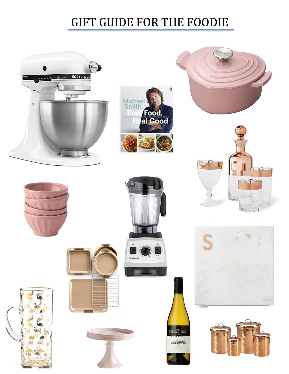 gift guide for foodie