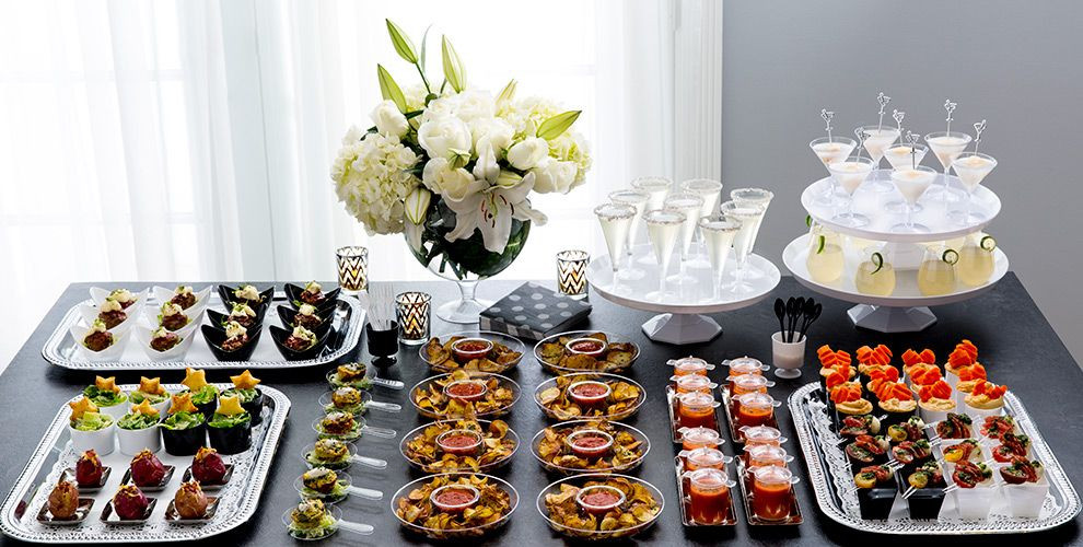 mini tasting party