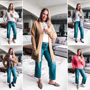 5 WAYS TO STYLE THE WIDE LEG CROPPED JEAN