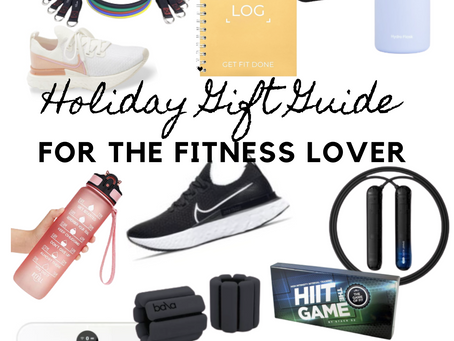 GIFT FOR THE FITNESS LOVER