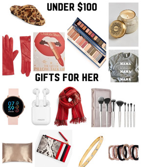 GIFTS FOR HIM AND HER UNDER $100