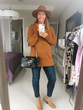 2WAYS TO STYLE A TUNIC SWEATER THIS FALL