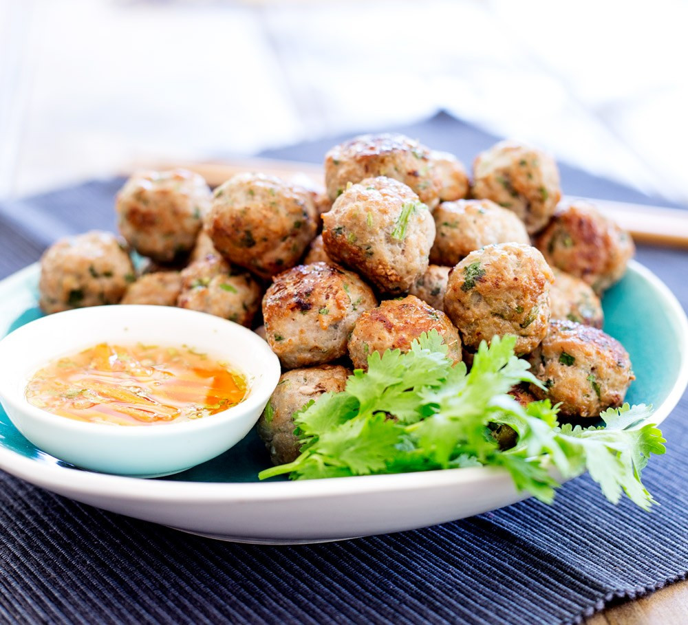simple baked meatballs