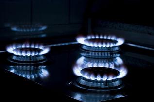 dodávka plynu