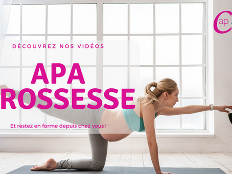 Vidéos APA Grossesse : pratiquez depuis chez vous !
