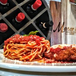 Chicken Parm And Spaghetti