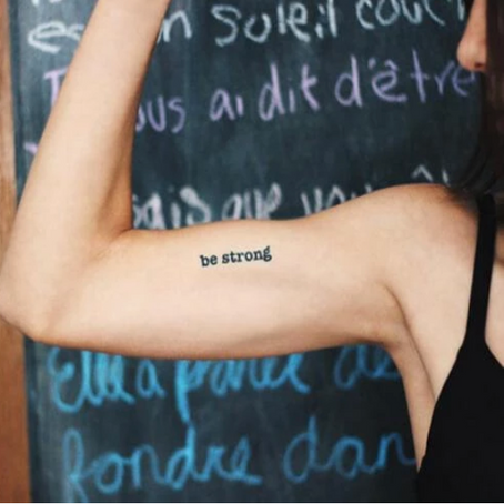 Why we're OBSESSED with manifestation temporary tattoo's (and a discount for you)